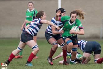2017-01-08 Ballynahinch Women v Blackrock Women -- 10