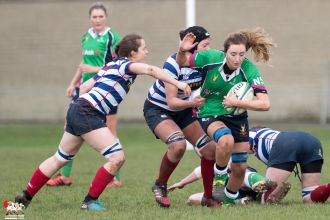 2017-01-08 Ballynahinch Women v Blackrock Women -- 1