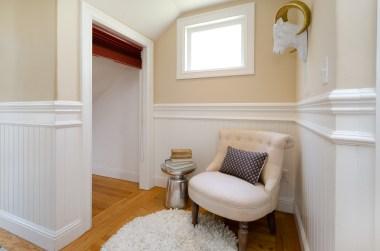 hallway nook and extra storage