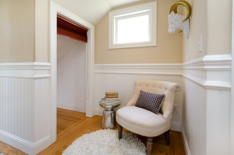 hallway nook and extra storage
