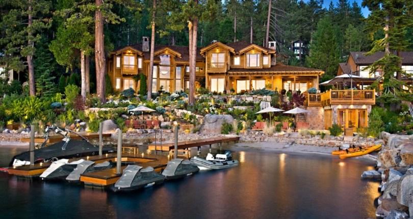 "Larry Ellison Sells Tahoe ""Pad"" for $20.3M | Inside T..."