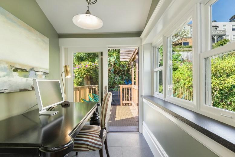 62 Buena Vista Terrace: Extra room off kitchen