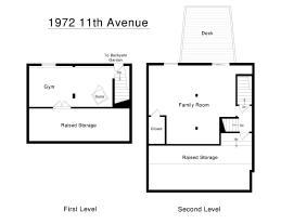 1972 11th Ave Lower Level Floorplans