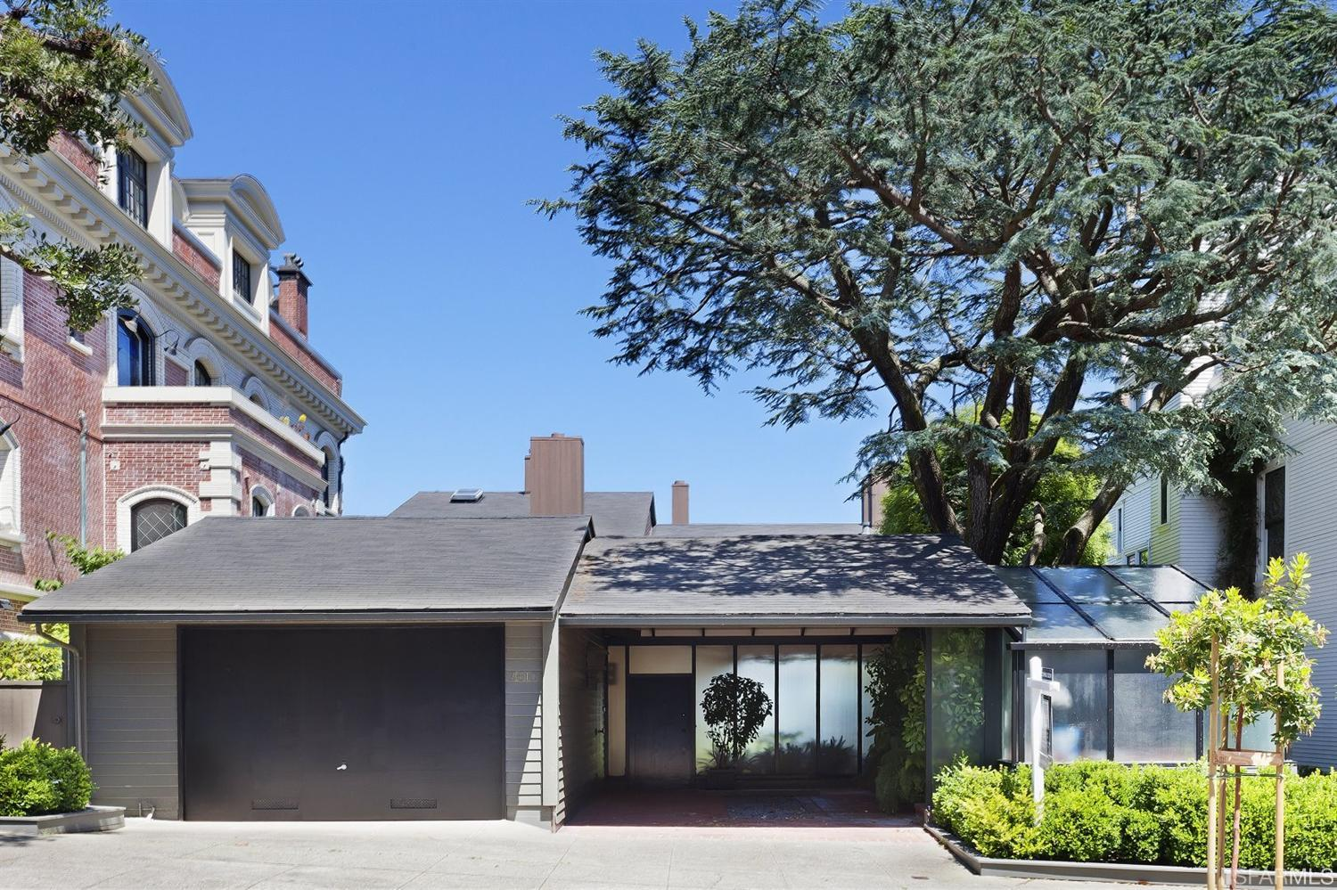 William Wurster Mid-Century Masterpiece Sells for $11,300,000   Pacific Heights