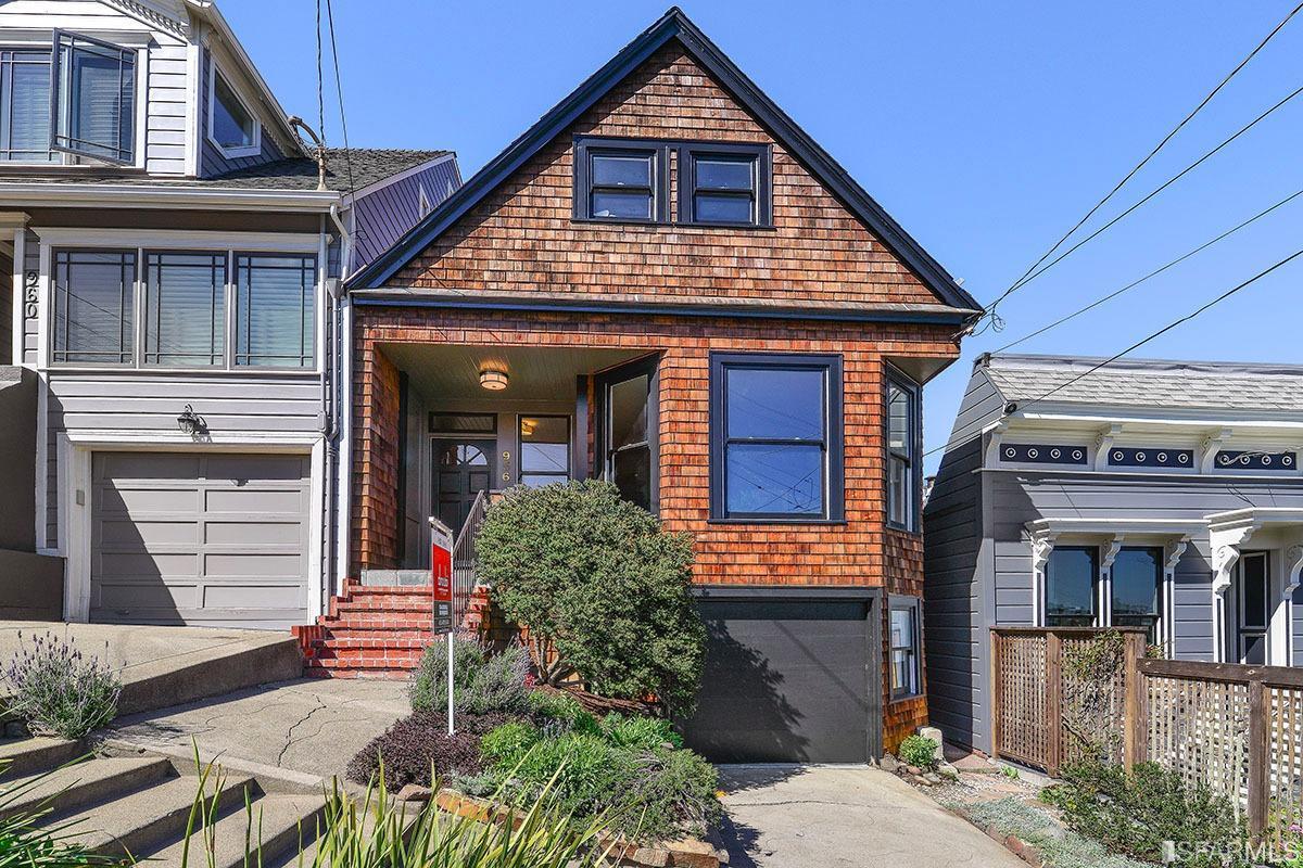 SOLD   956 Elizabeth St.   Noe Valley   San Francisco