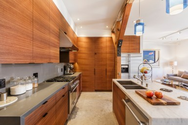 Box Factory Loft Remodeled Kitchen