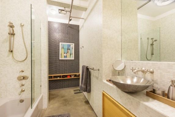Box Factory Loft Designer Bathroom