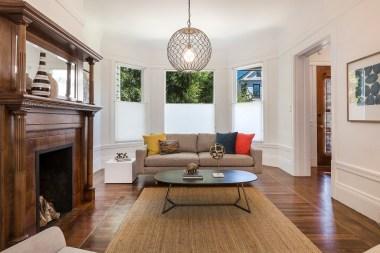 SOLD  707 Cole St.   Formal Living Room