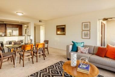 875 La Playa #179 | Outer Richmond | Living Room