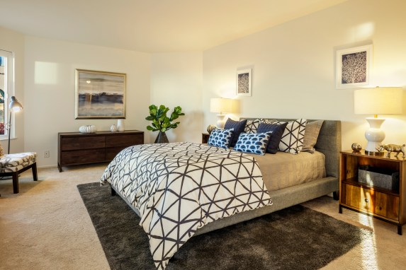 875 La Playa #179 | Outer Richmond | Master Bedroom