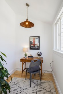 1826 Page St | Breakfast Nook / Office