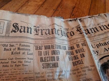 San Francisco Examiner, August 1908