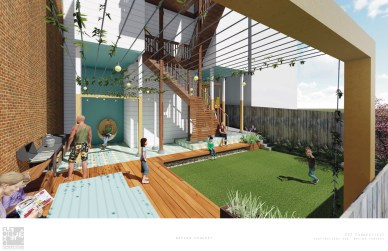 318 Connecticut Yard Rendering