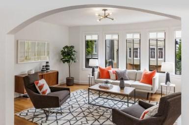 64 Rosemont Pl, San Francisco | Living Room