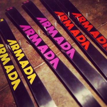 I primarily ski on Armadas
