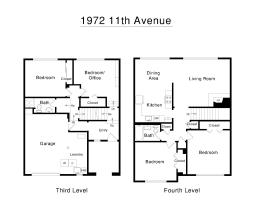 1972 11th Ave Street and Upper Level Floorplan