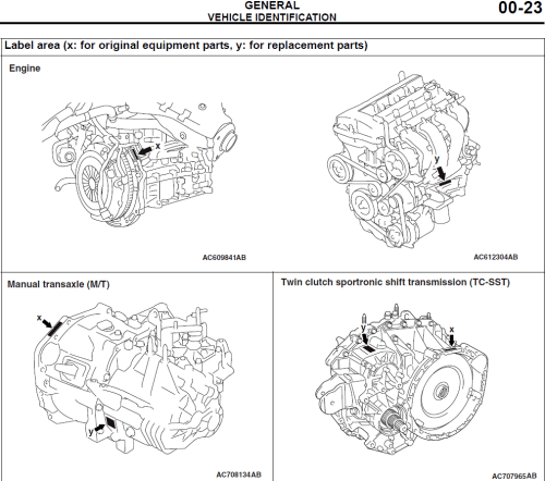 small resolution of engine serial number location evolutionm mitsubishi lancer and vw 1 8t engine 4b11t engine diagram