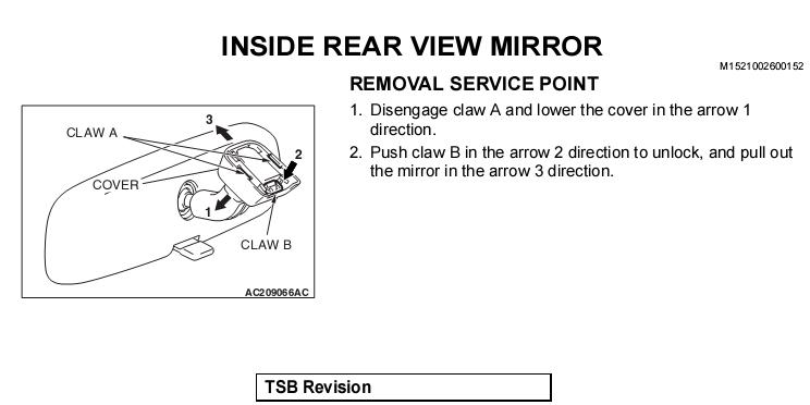 Wiring Diagram For Rear View Mirror Ford Mustang Rear View