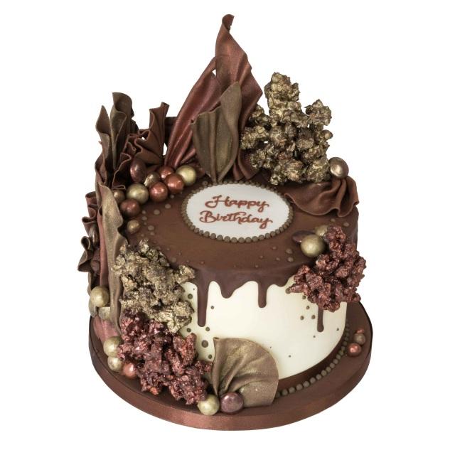 Chocolate Covered Drip Cake