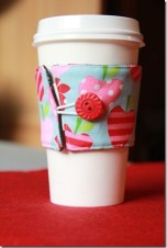Reversible Coffee Cup Sleeves