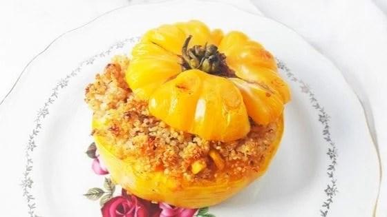Gluten-Free Quinoa Stuffed Tomatoes