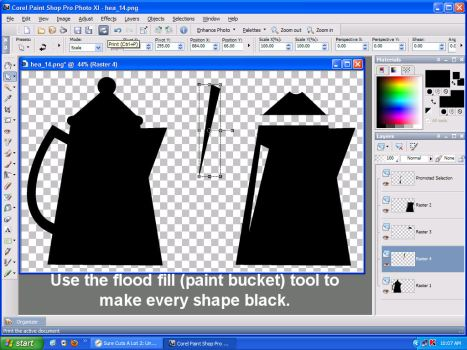 convert clip art cutting
