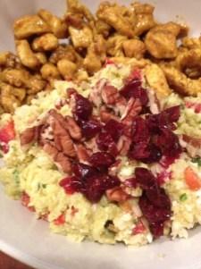califlower rice plate