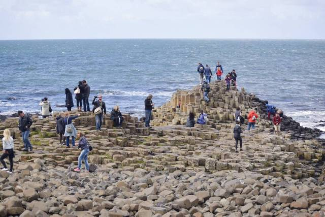 visiting the giant's causeway
