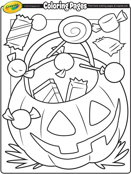 Free Printable Halloween Coloring Pages & Activity Sheets
