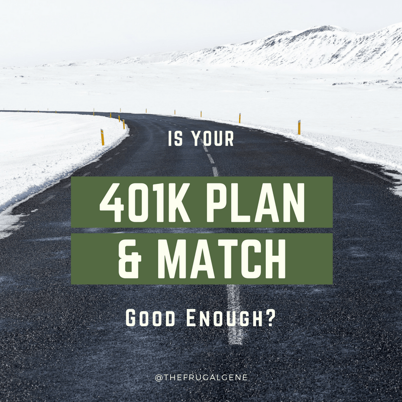 Is your 401K good enough? Yes! Here is how. Is your 401K good enough? Besides the fees, matching, and enrollment - the bottom line is how much to save annually no matter what your situation.