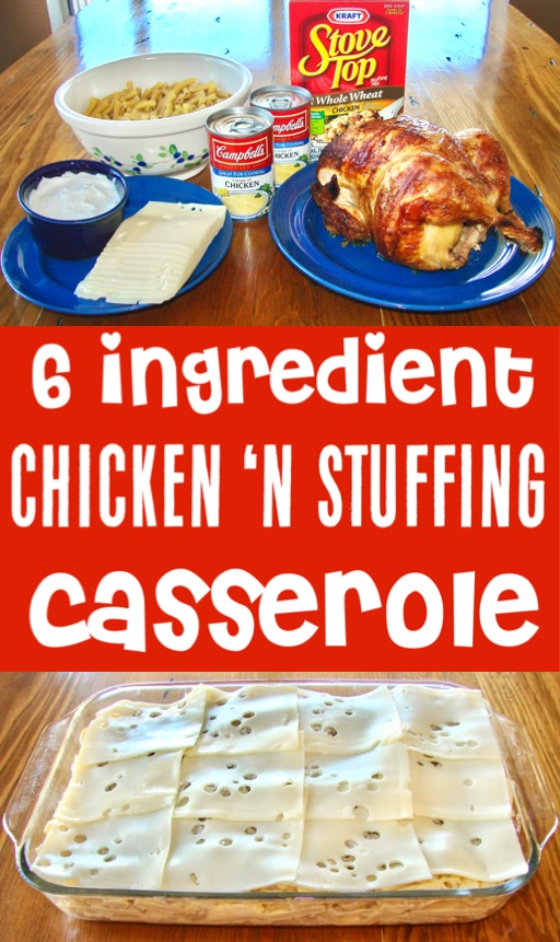 Chicken Casserole Recipes for Dinner with Stuffing and Pasta