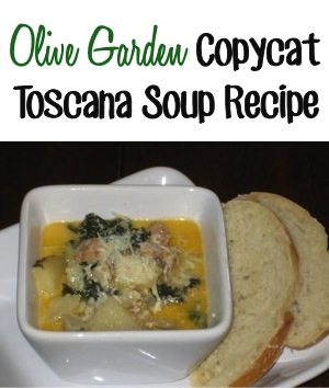 Olive Garden Copycat Toscana Soup Recipe at TheFrugalGirls.com