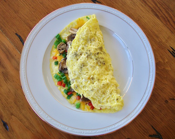 Easy Omelette Recipe with Cheese