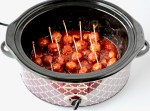 Crockpot Cranberry Meatballs Recipe