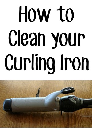 How to Clean Your Curling Iron from TheFrugalGirls.com