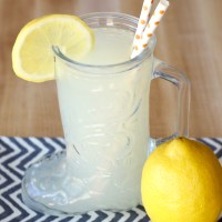 Fresh Squeezed Lemonade Recipe! {Just 3 Ingredients!}