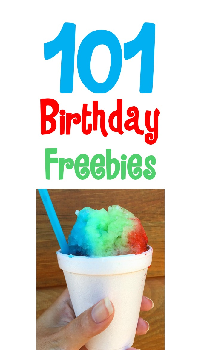 Birthday Freebie List at TheFrugalGirls.com