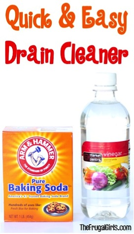 Easy Drain Cleaner Trick