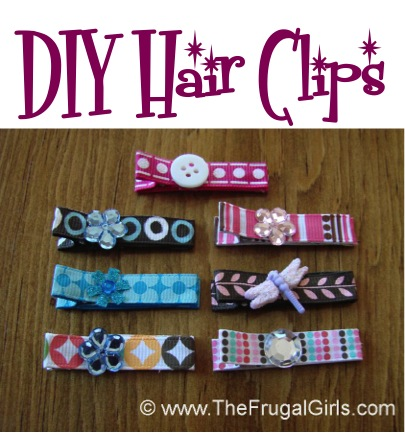 How to Make Cute Hair Clips for Babies and Little Girls