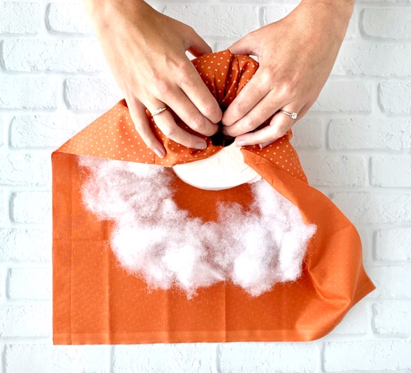 Toilet Paper Pumpkins Directions