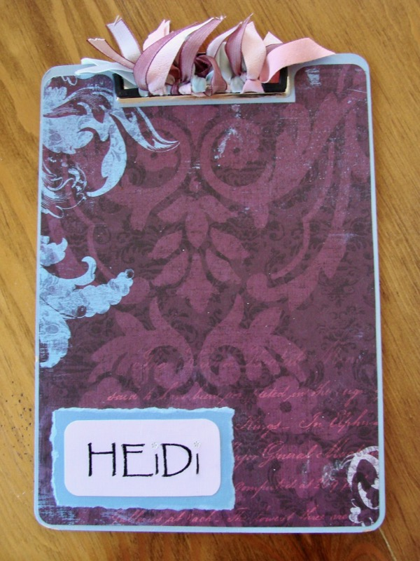 Cipboard Crafts - Decorated Clipboards