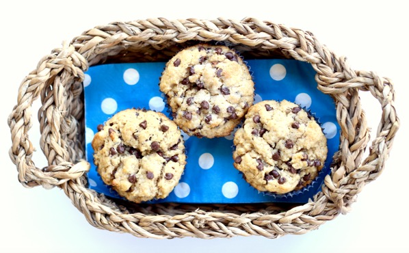 Peanut Butter Chocolate Chip Muffins Easy
