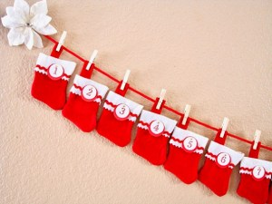 DIY Advent Calendar for Kids with Stockings
