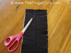 How to Make a Fleece Scarf with Fringes