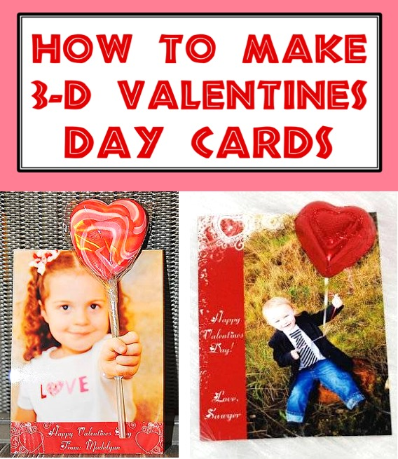 Valentine Crafts for Kids - Easy Homemade Valentine's Day Cards