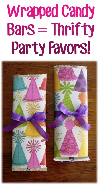 Thrifty Party Favors at TheFrugalGirls.com
