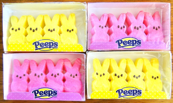 Easter Bunny Peeps Marshmallows