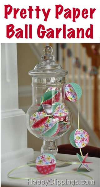 Paper Ball Craft Making! {Easy Tutorial} at TheFrugalGirls.com