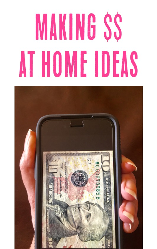 Making Money at Home Ideas - at TheFrugalGirls.com