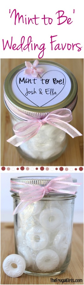 Mint to Be Wedding Gift in a Jar